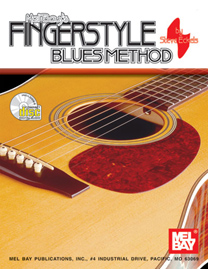 Fingerstyle Blues Method Book/CD Set