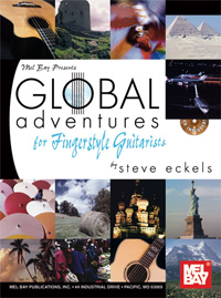 Global Adventures for Fingerstyle Guitarists Book/Cd Set