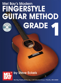 Modern Fingerstyle Guitar Method Grade 1 Book/CD Set